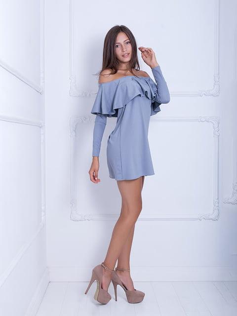Платье серое Podium 5036181