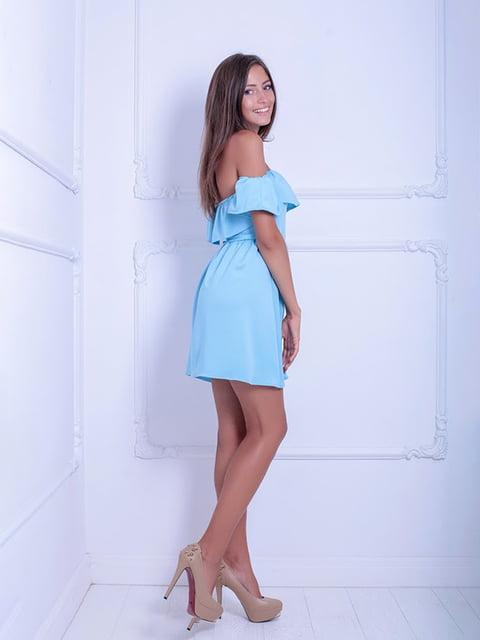 Платье голубое Podium 5036184