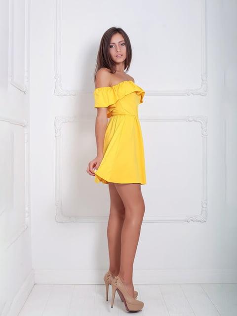 Платье желтое Podium 5036188