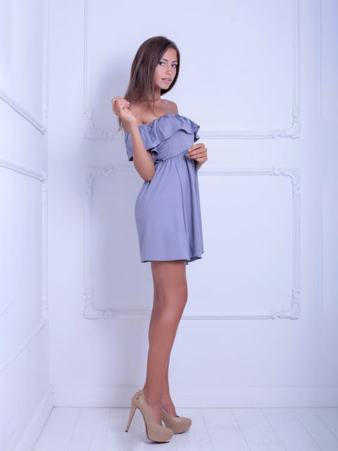 Платье серое Podium 5036189