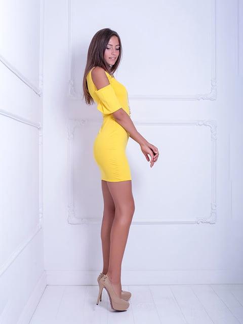 Платье желтое Podium 5036201