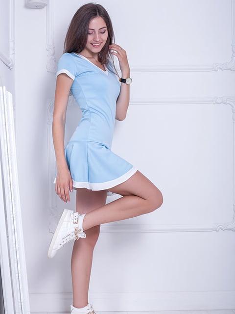 Платье голубое Podium 5036304