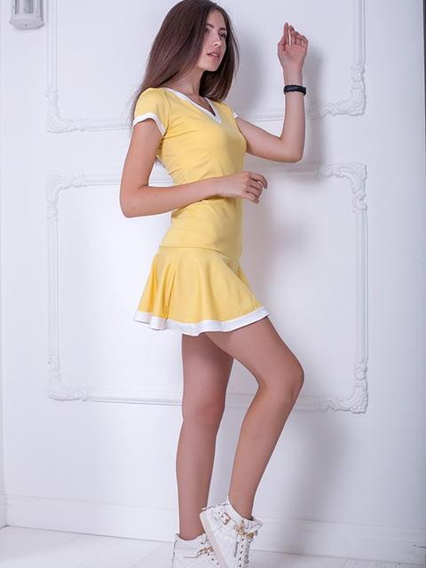 Платье желтое Podium 5036308