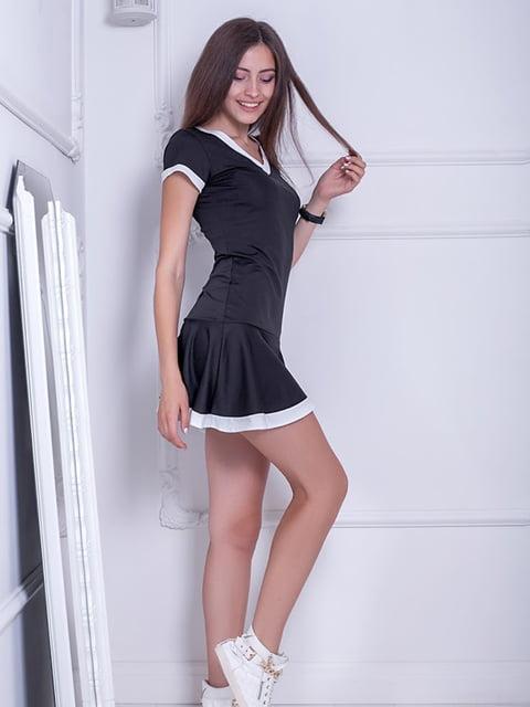 Платье черное Podium 5036311
