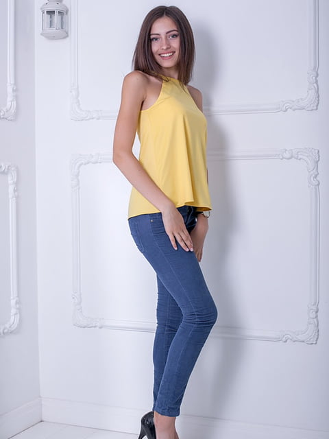 Блуза желтая Podium 5036316