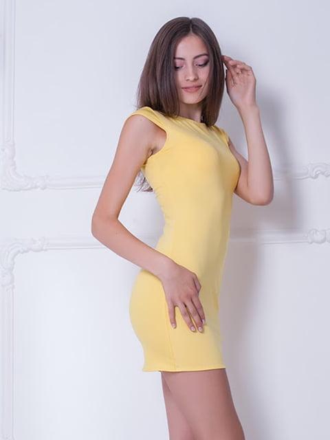Платье желтое Podium 5036333