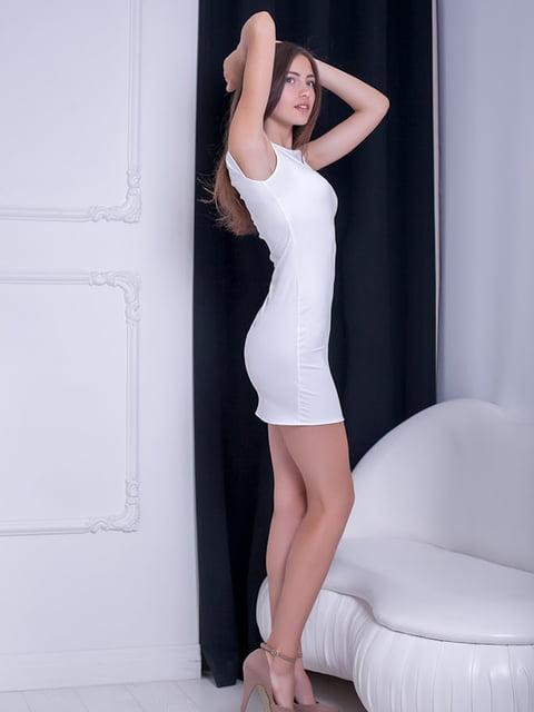 Платье белое Podium 5036334