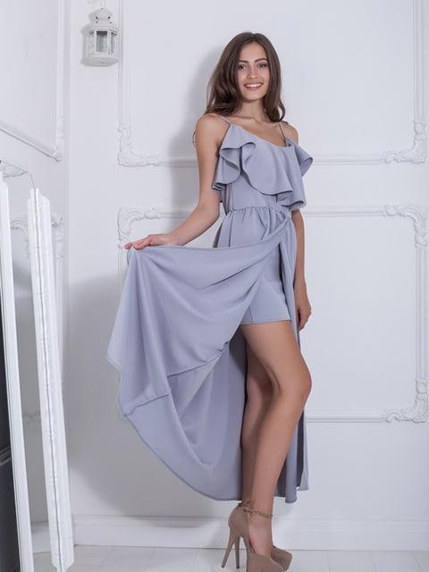 Платье серое Podium 5036341