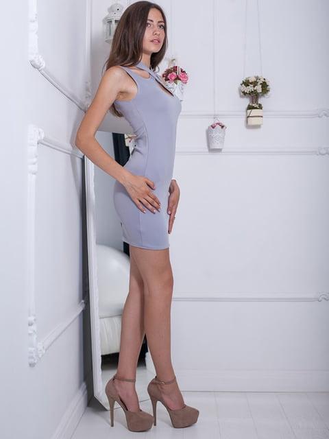 Платье серое Podium 5036349
