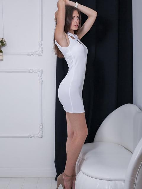 Платье белое Podium 5036350