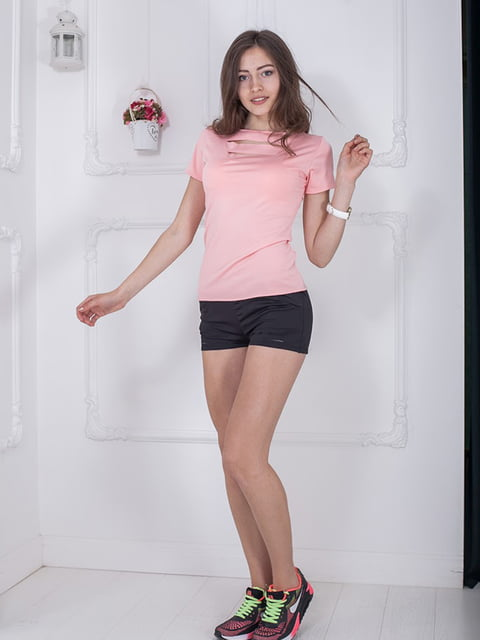 Футболка розовая Podium 5036399
