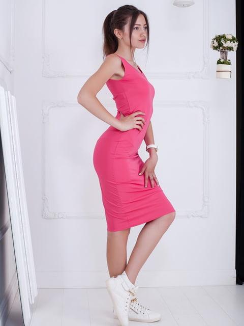 Платье розовое Podium 5036416