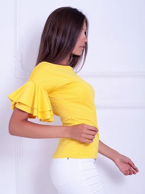 Блуза желтая Podium 5036483