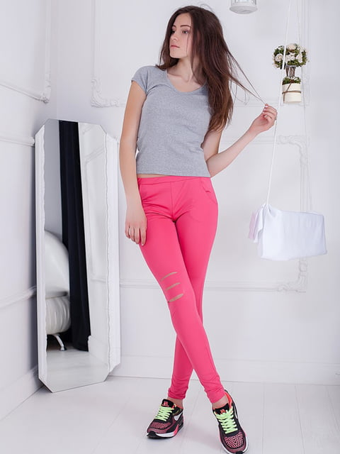 Леггинсы розовые Podium 5036496