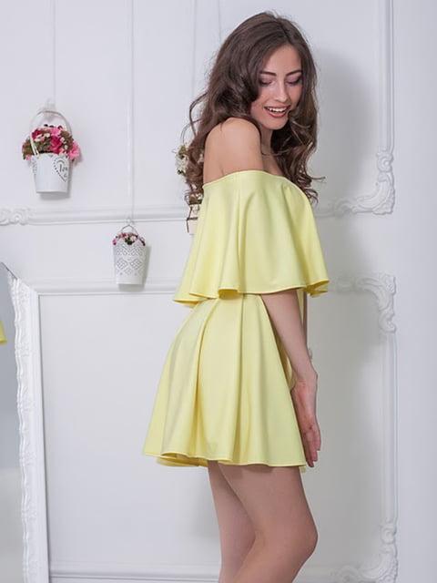 Платье желтое Podium 5036505