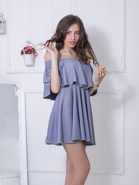 Платье серое Podium 5036506