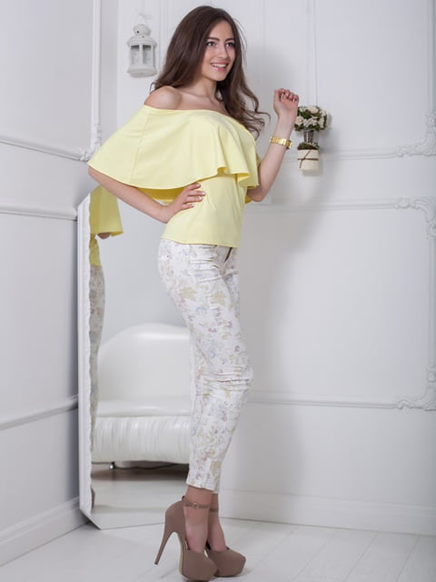 Блуза желтая Podium 5036512