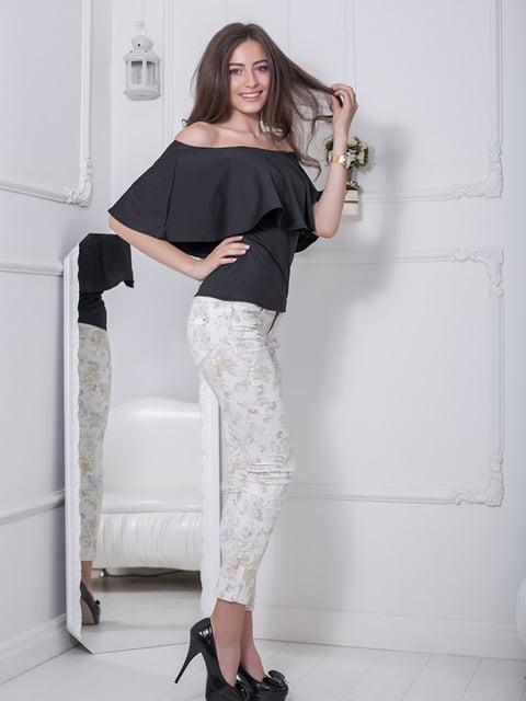 Блуза черная Podium 5036515