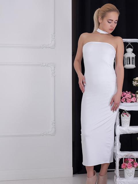 Платье белое Podium 5036521