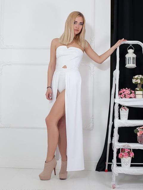 Платье белое Podium 5036535