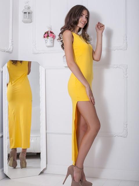 Платье желтое Podium 5036546