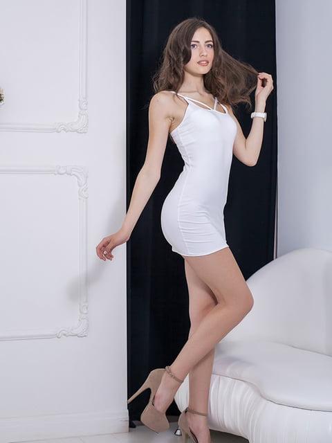 Платье белое Podium 5036556