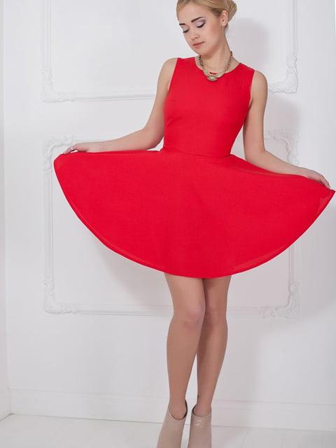 Платье красное Podium 5036574
