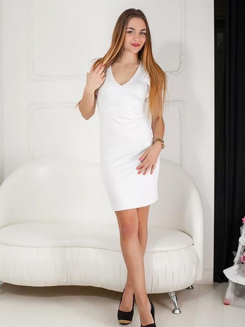 Платье белое Podium 5036608