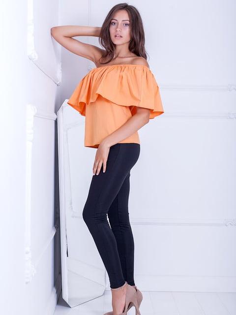 Блуза оранжевая Podium 5036641