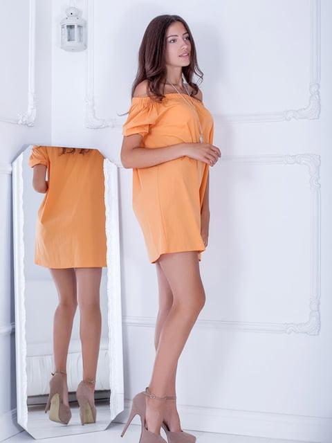 Платье оранжевое Podium 5036652