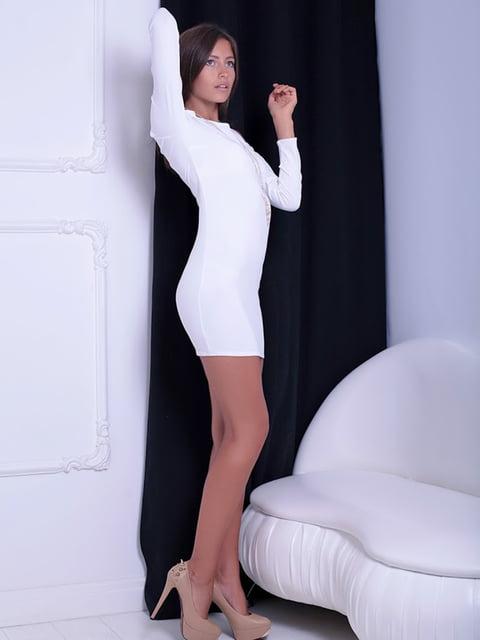 Платье белое Podium 5036653