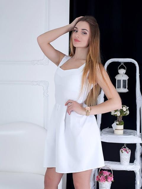 Платье белое Podium 5036709