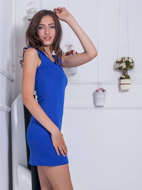 Платье синее Podium 5036717