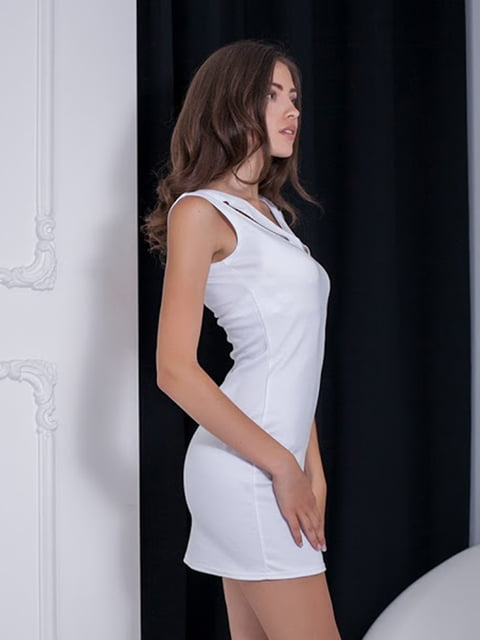 Платье белое Podium 5036720