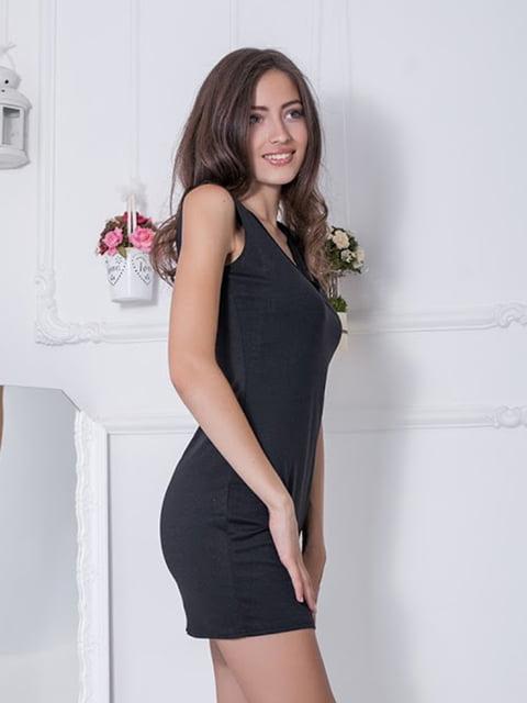 Платье черное Podium 5036721