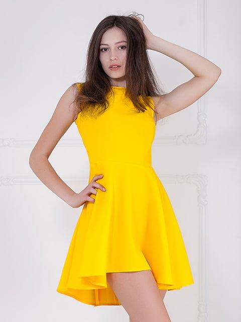 Платье желтое Podium 5036741