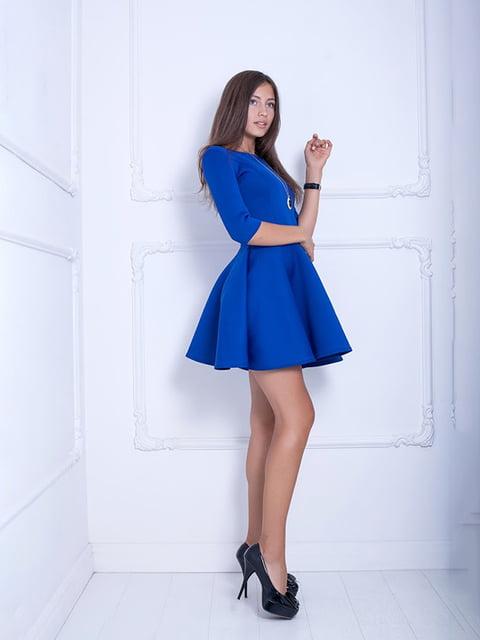 Платье синее Podium 5036790