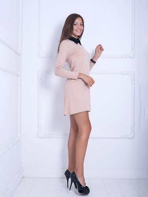 Платье бежевое Podium 5036797