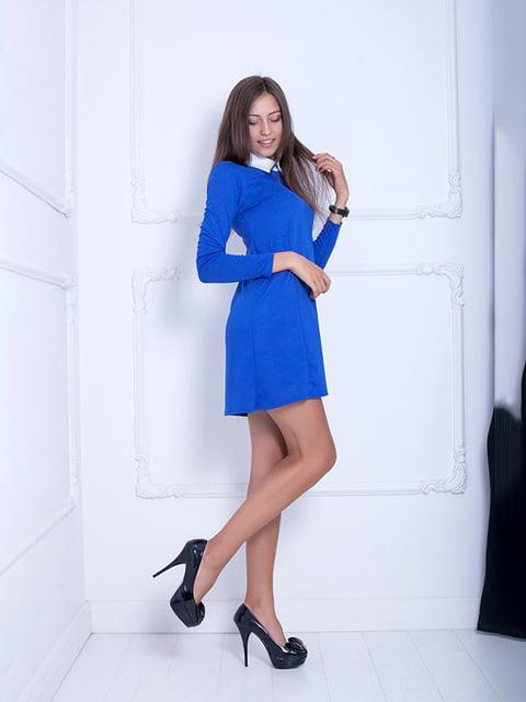 Платье синее Podium 5036798