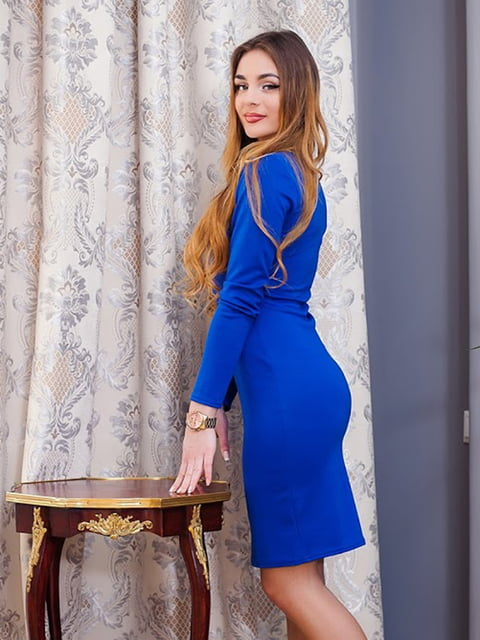 Платье синее Podium 5036803