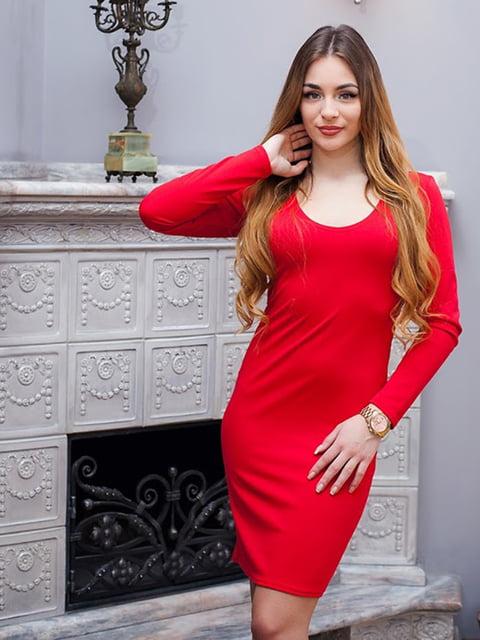 Платье красное Podium 5036804
