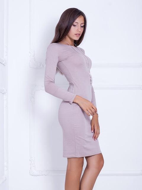 Платье бежевое Podium 5036830
