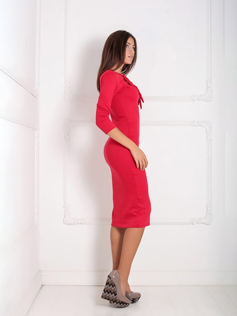 Платье красное Podium 5036840