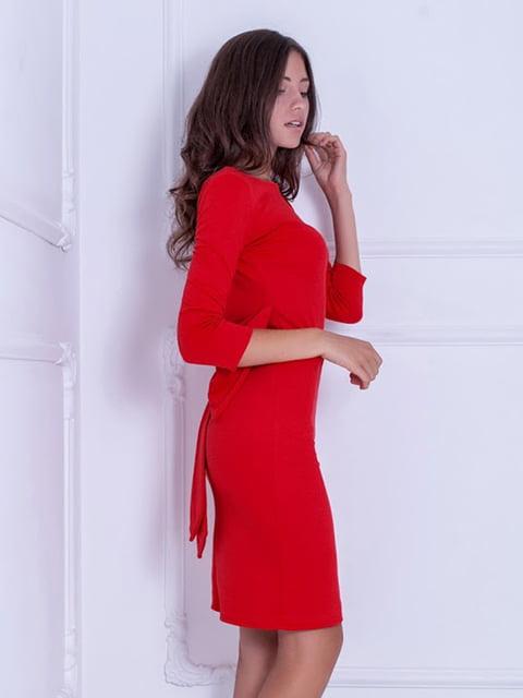 Платье красное Podium 5036845