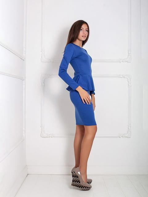 Платье синее Podium 5036864