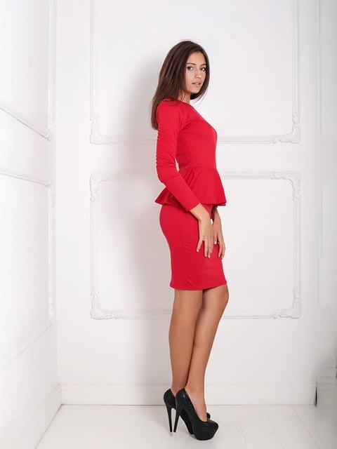 Платье красное Podium 5036865