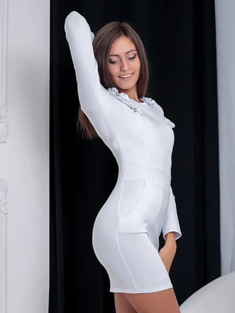 Платье белое Podium 5036892