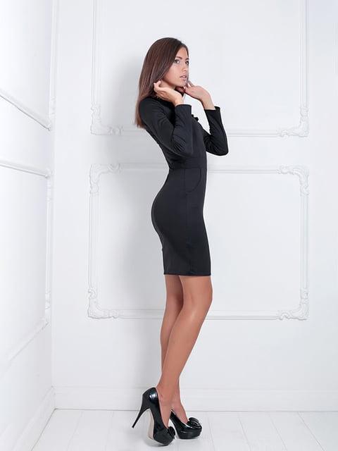 Платье черное Podium 5036893