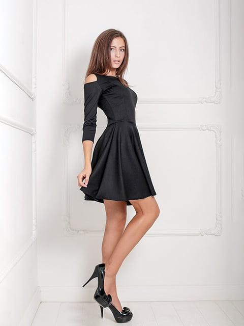Платье черное Podium 5036901