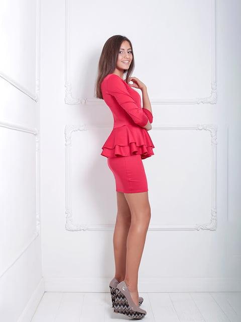 Платье красное Podium 5036926
